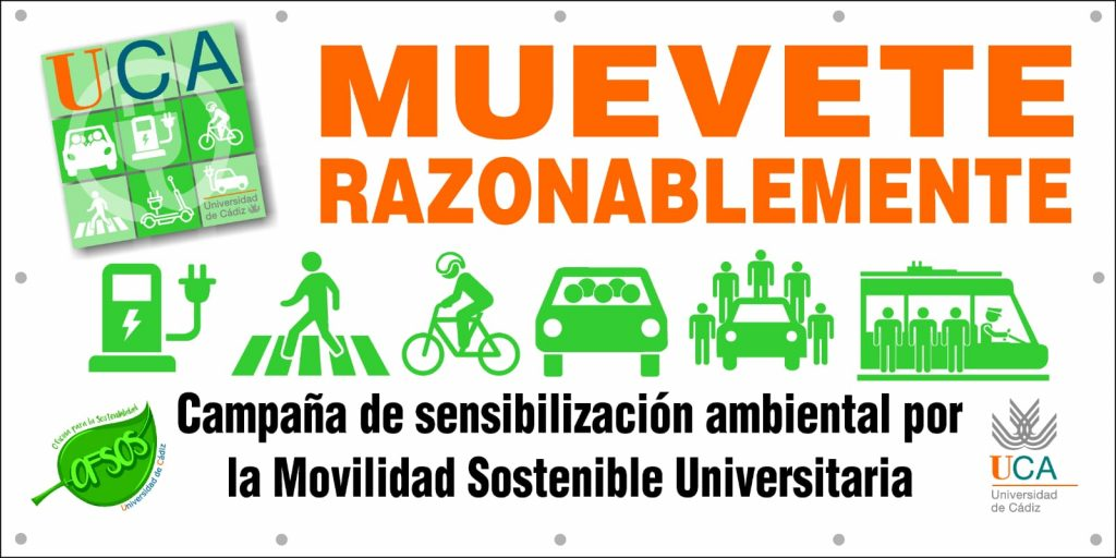"""""""Muévete Razonablemente"""" el próximo 8 de noviembre en el Campus de Puerto Real"""