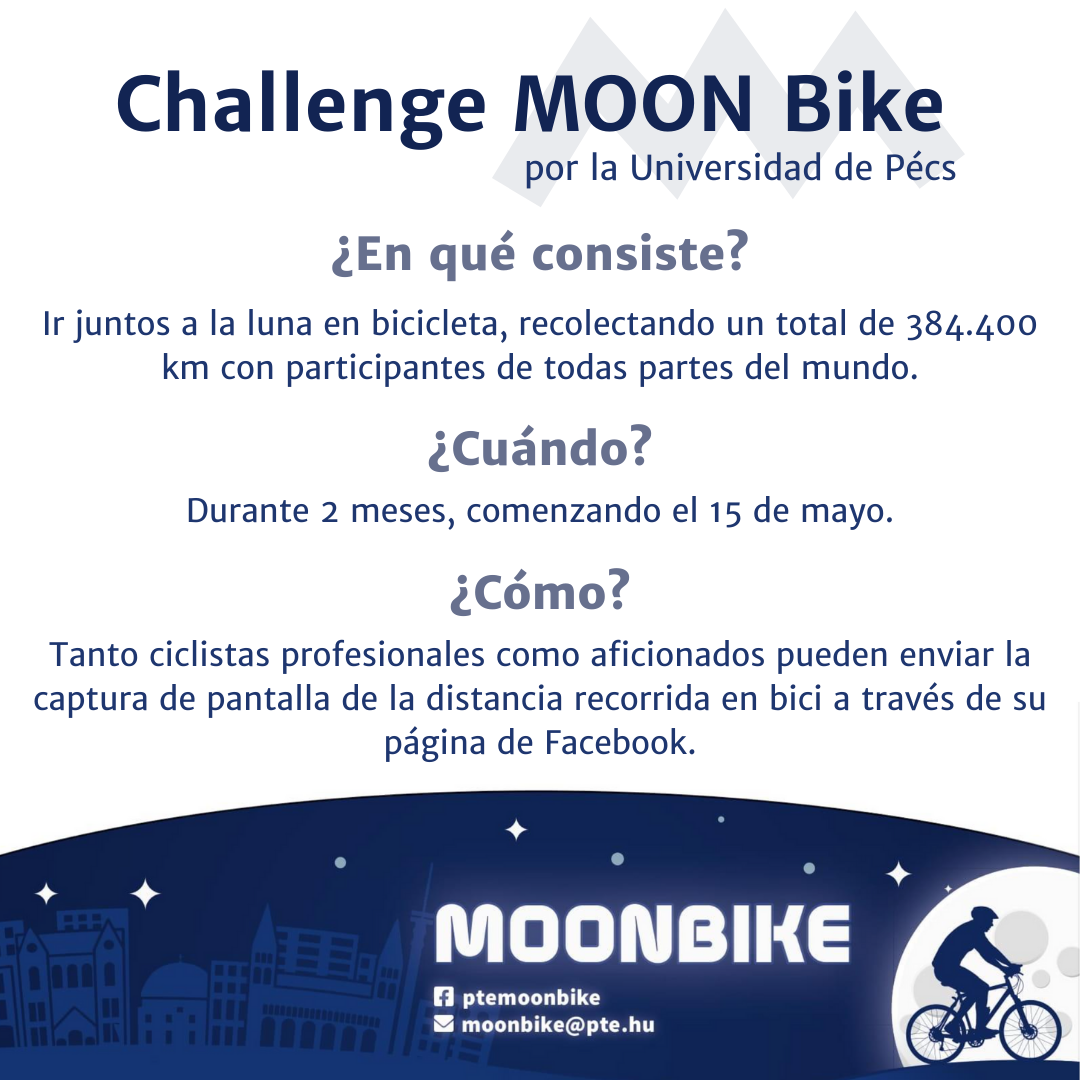 Únete al Desafío MOON BIKE 2021 y recorre junto a otros ciclistas la distancia de la Tierra a la Luna